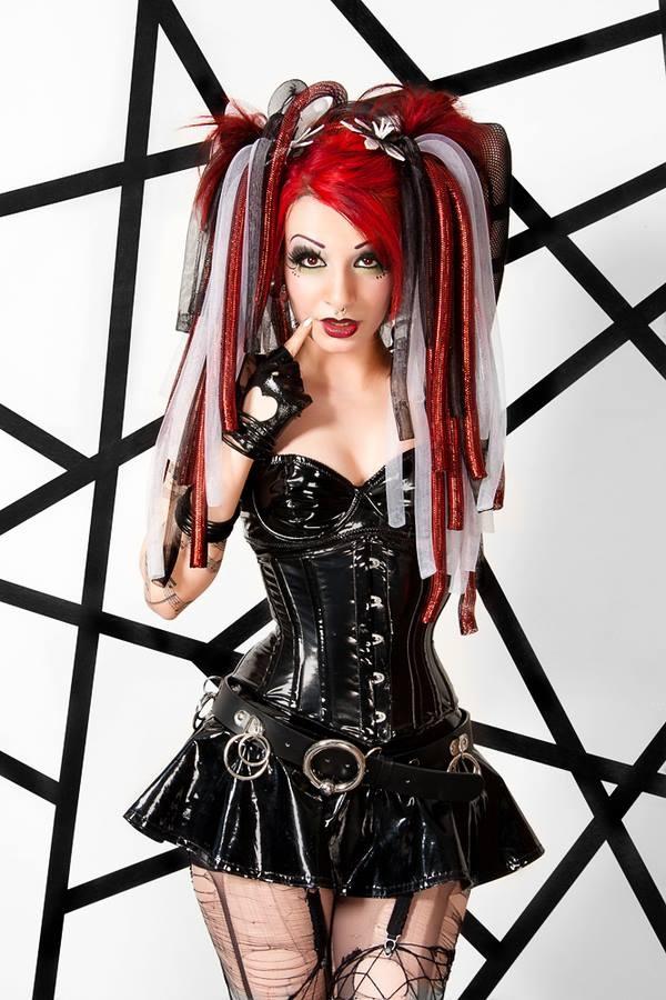 cyber goth style I actually like this one
