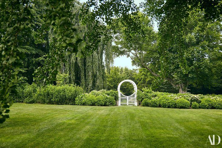 A peek inside Candice Bergen's lush Hamptons gardens.