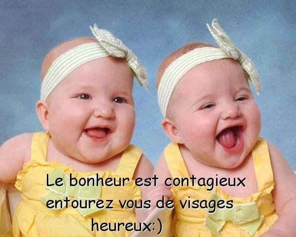 le bonheur est contagieux