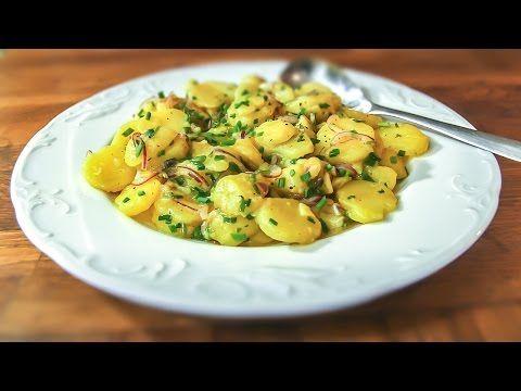 Videorecept: Vídeňský bramborový salát - Jak v kuchyni