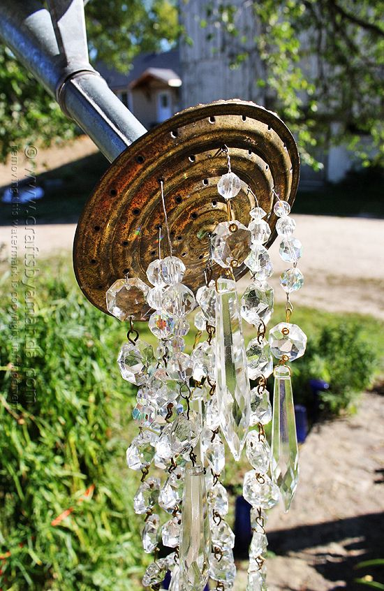 A Watering Can That Pours Crystals @Amanda Snelson Snelson Snelson Snelson Snelson Formaro Crafts by Amanda