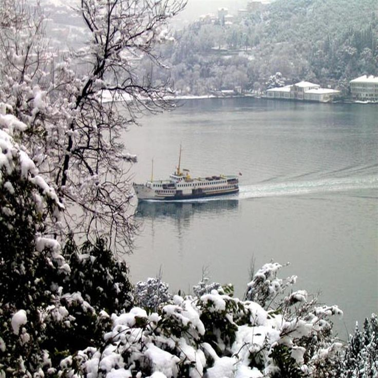istanbul in snow