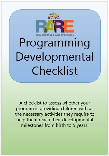 Switch the way you think about checklists from the child's responsibility to the educator's role.