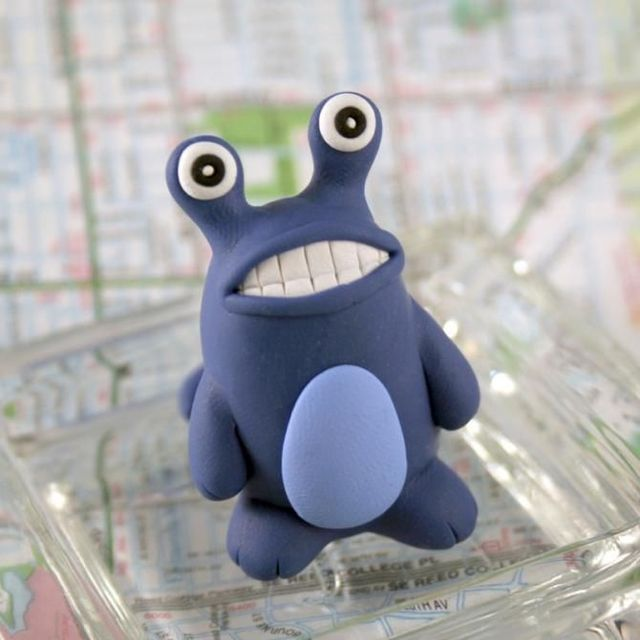 Modeling clay monsters (70 photos) - Izismile.com