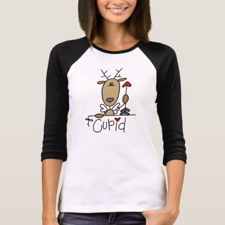 Cupid Reindeer Christmas Tshirts and Gifts - tap, personalize, buy right now!