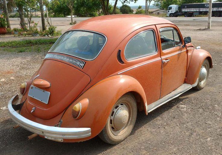 Volkswagen, Fusca, 1300, 1973, Ocre Marajó