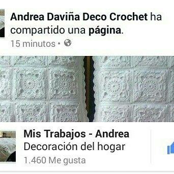 Andrea Daviña Deco Crochet en Facebook