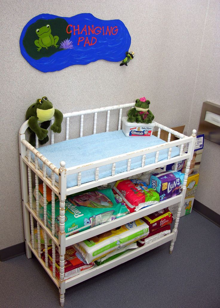 Baby Changing table with lots of storage space