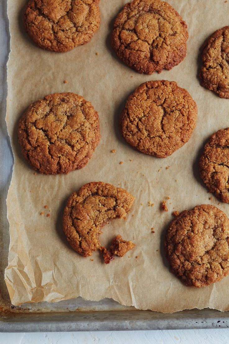 These graham cracker cookies possess the qualities of any desirable cookie: crispy around the edges, with a super-soft,…