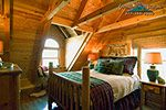 Almost Heaven 1 bedroom romantic getaway NC mountain log cabin...Great Smoky Mountains