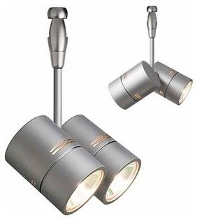 LBL Lighting Twin Spot Swivel   Modern   Track Lighting   YLighting