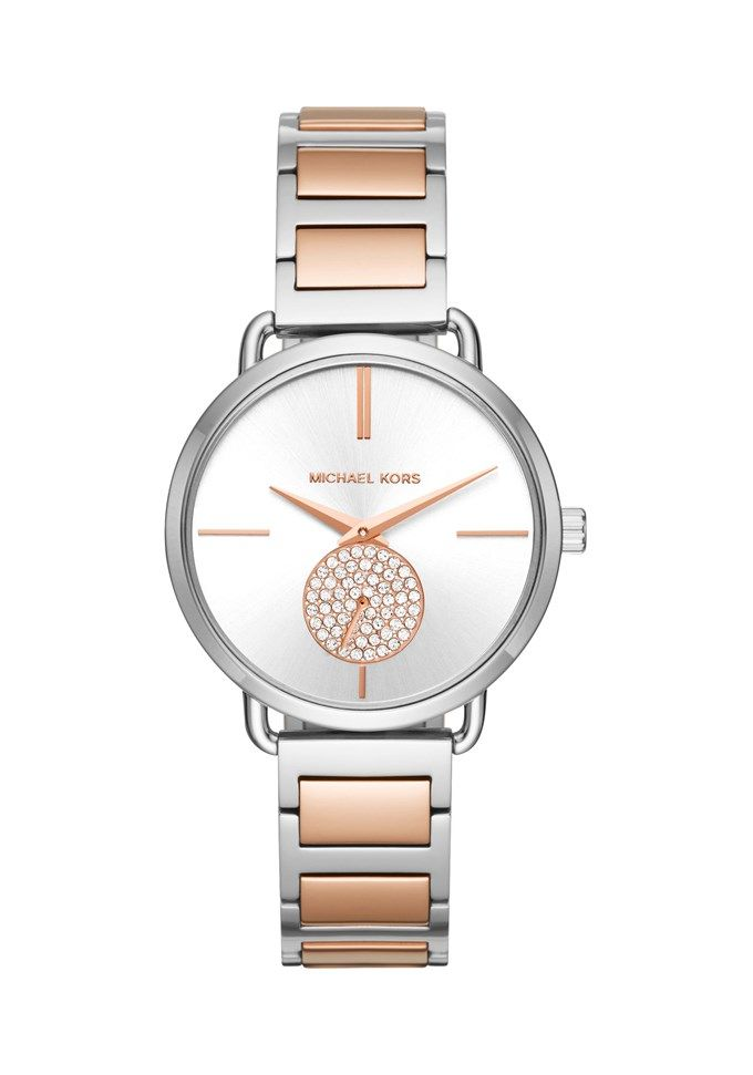 Michael Kors Portia MK3709 pris - 2495 SEK En kvinna #armbandsur med skönhet och enkelhet av Michael Kors #klockor. #damklockor, #klockoronline, #MichaelKorsKlockor