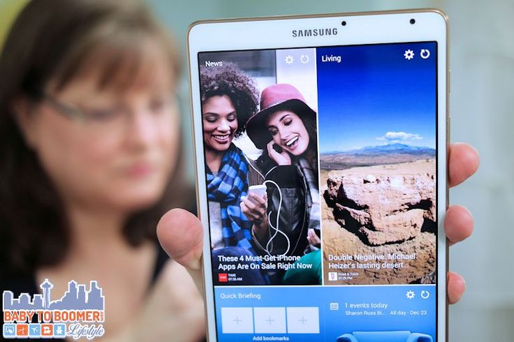Samsung Tab S 8.4 Tablet: Pure Entertainment - sponsored