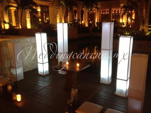 #illumination ceremony decor cancun riviera maya