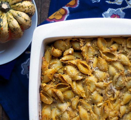 Pumpkin & Ricotta Pasta Casserole. Use GF Pasta (duh!) PS: This is not ...