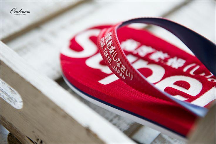 Essential Summer Footwear, #Superdry Flip Flops. Omberon Style Fashion. © Vicky Lafazani