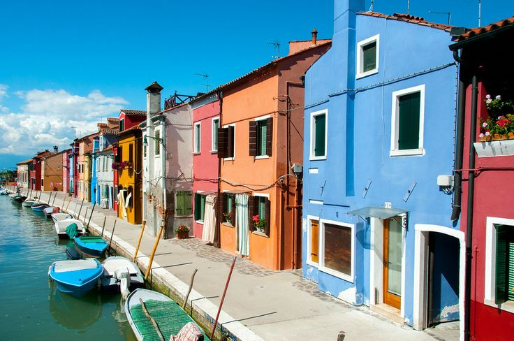 In Venice, I took a day trip to the nearby island of Burano