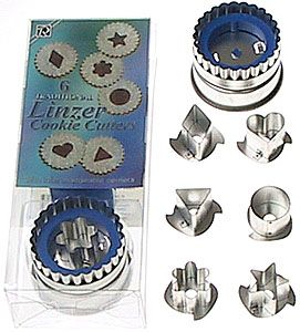 Will use this cookie cutter this weekend! Linzer cookie cutter sets