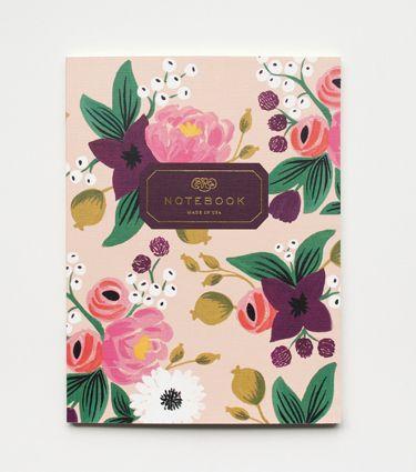 Vintage Blossom Notebook Set http://riflepaperco.com/item/Vintage_Blossom_Notebook_Set/441/c53