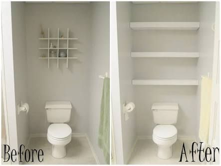 The 25 Best Over Toilet Storage Ideas On Pinterest Bathroom Towel Diy And Shelving