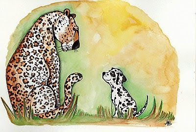Anita Bagdi: Illustration Friday: Proverb/ Kozmondas