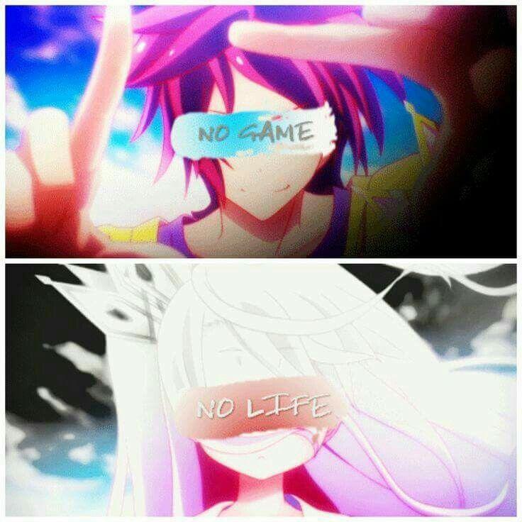 #shiro #sora #nogamenolife #anime