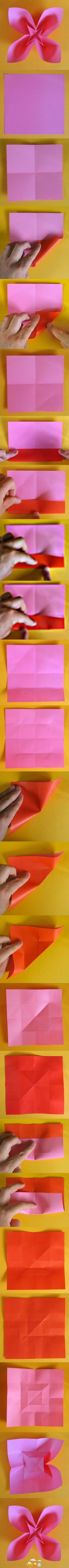 Origami Blüte