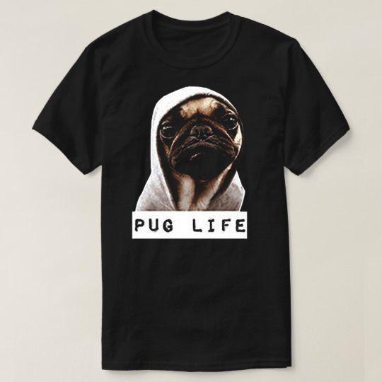 Pug Life Animal Custom Shirts