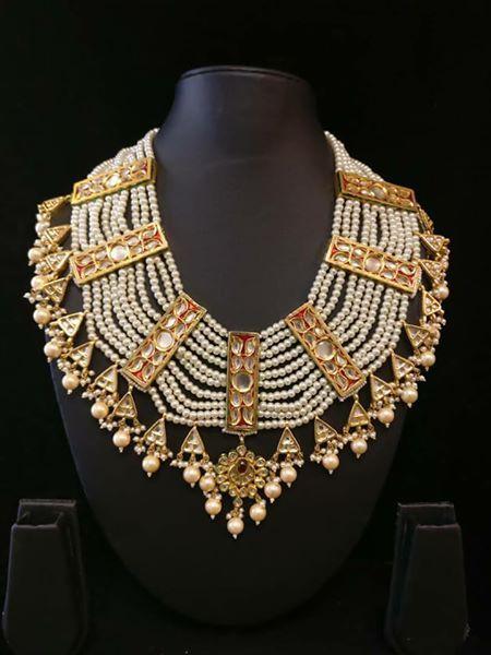 Wedding jewellery |Kundan & Pearls | Paisley pop jewellery