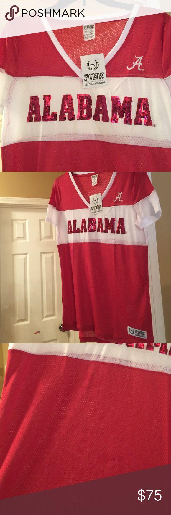 T shirt design huntsville al - New Pink By Victoria S Secret Alabama Shirt