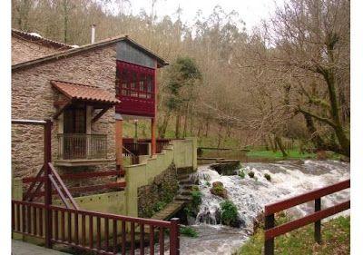 Casas de galicia venta casa molino en betanzos pazos gallegos y casas de campo pinterest - Casas de campo en galicia ...
