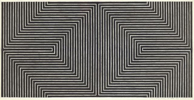 Frank Stella, 'Black Study I,' 1968, Dominique Lévy Gallery
