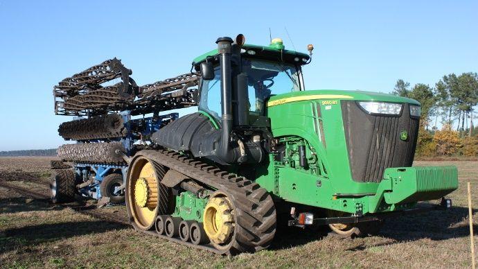 Tracteur XXL de John Deere