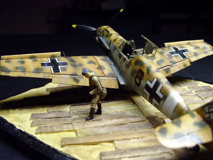 BF 109 E4 Trop, Tamiya 1/48 | Plastic Models World ...