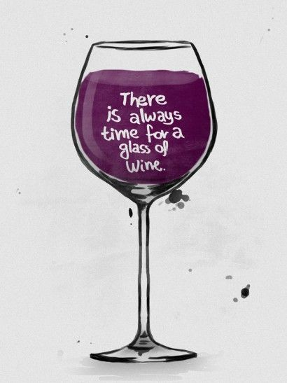 Glass of wine - On The Wall | Crie seu quadro com essa imagem…