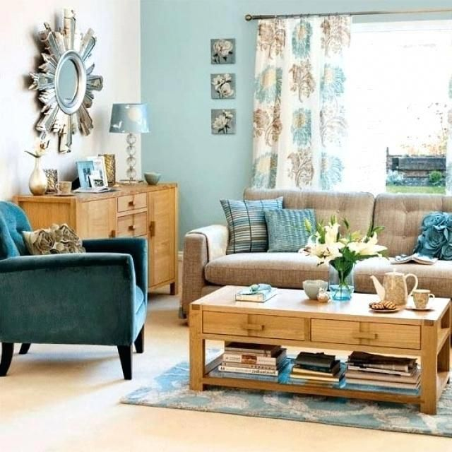 Blue Brown Living Room Decor Gorgeous Living Room Decor Blue And Brown Light Blue Color Througho Teal Living Rooms Brown And Blue Living Room Brown Living Room #teal #and #brown #living #room #decorating #ideas