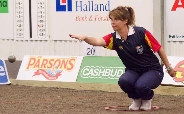 Championnat d'Europe individuel 2016 à Halmstad en Suède avec Yolanda Mattaranz