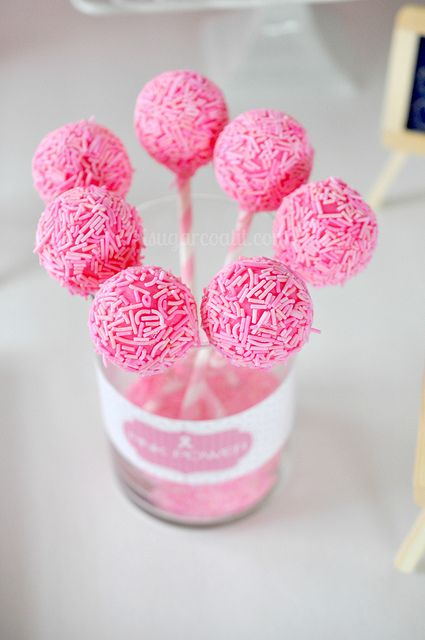 Think Pink Breast Cancer Awareness Sweet Table | Flickr - Photo Sharing!