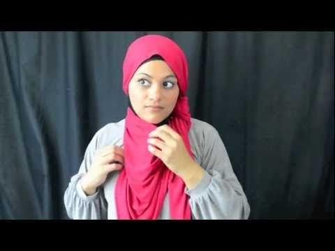 4 Jersey Hijab Tutorials in 3 Minutes - hijab-ista.com