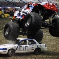 Monster Trucks Roar Into The Mercedes-Benz Superdome
