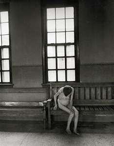 Psychiatric Asylum - Patient in Women's Ward, Ohio 1946