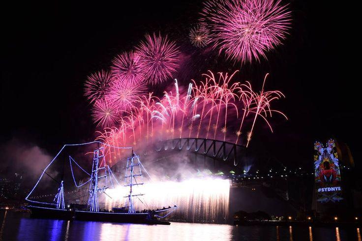 Sydney NYE  2016  #sydNYE #sydney #2016 #happynewyear #harbourbridge #operahouse #midnight #summer #rooftopparty #firstrow #firework #bucketlist #australia #newsouthwales #melbourne #adelaide #brisbane #perth #cairns #greatbarrierreef #uluru #workandtravel #vacation #backpackers #travel #journey by chiarahennig http://ift.tt/1UokkV2