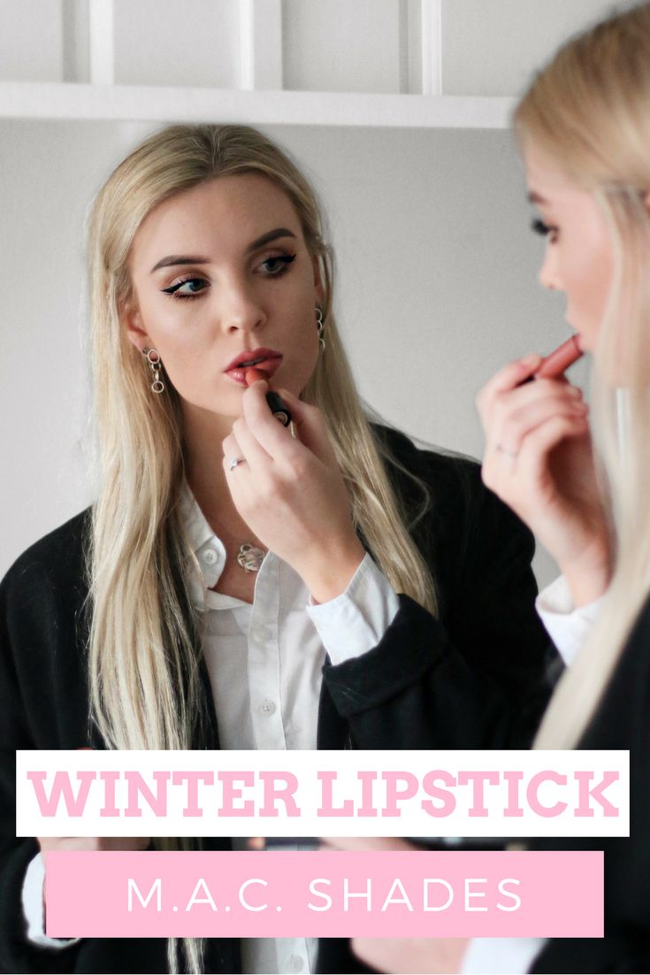 Mac Lipstick shades for Winter | Izzy Wears Blog https://izzywears.com/blog/lipsticks-mac-cosmetics-winter