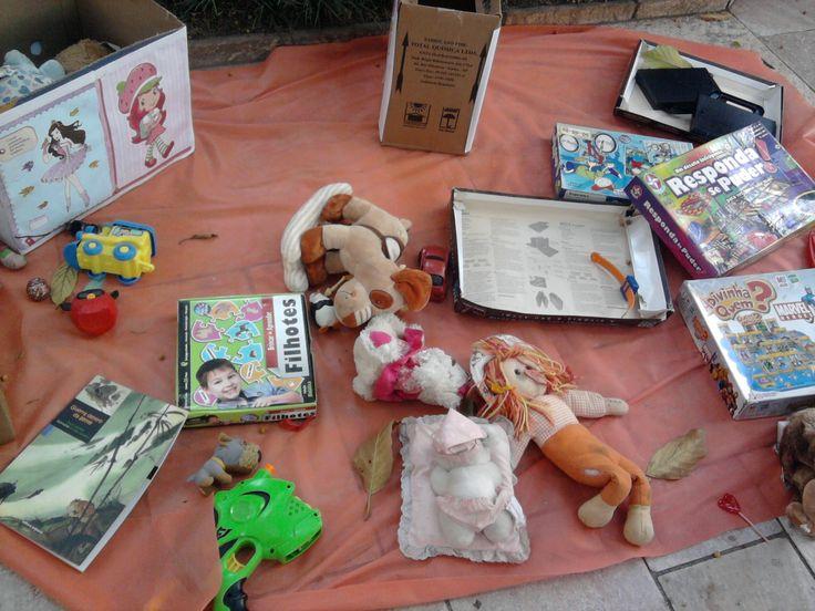 Feira de Troca de Livros e Brinquedos