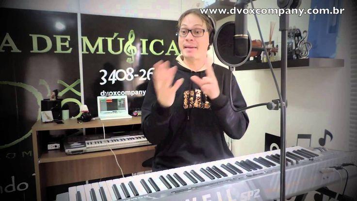 Tecnica Vocal Curitiba-Melisma/Apogiatura/Escala vocal-Fabio Vaz