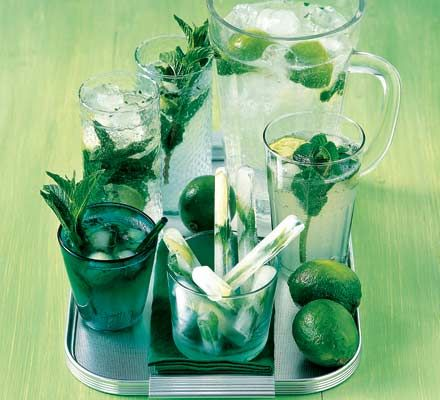 I had Mint and Lime Mojito recently for the first time and I absolutely loved it.  What actually goes into it seems to differ on websites, so I suppose it must be a matter of taste.  Just wish I knew the exact recipe of the one I had in Toronto!  Very refreshing drink.  I'll be having another soon!