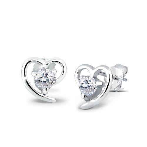 Elli Damen-Ohrringe Herzen 925 Silber 03200527