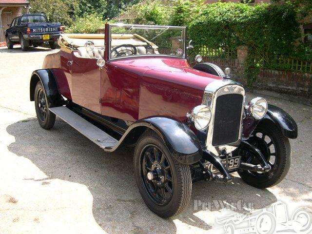 Austin 20/4 Mulliner 2 Seater & Dickey 1927.