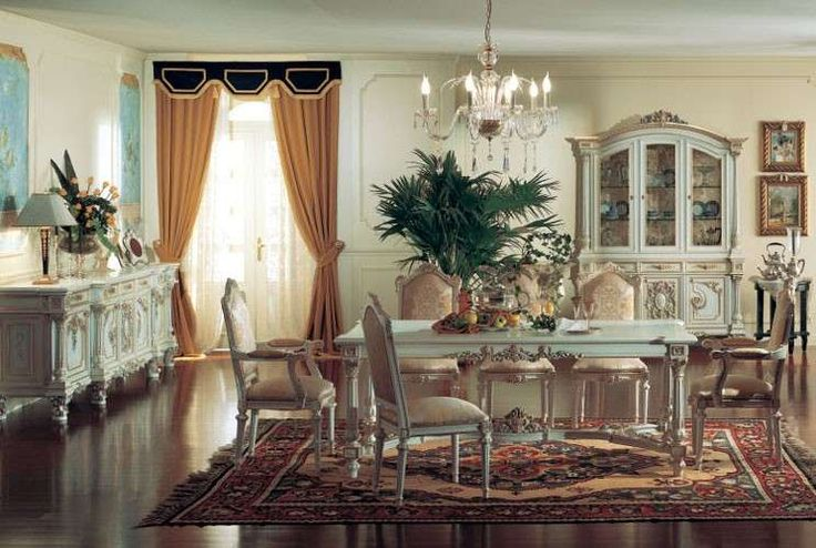 Sala da pranzo stile veneziano - Sala da pranzo in stile veneziano