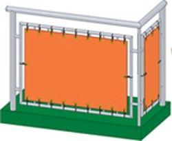 windschutz - balkonbespannung